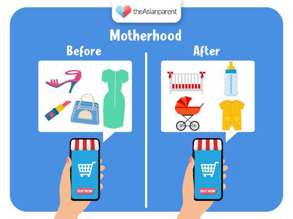Before vs After: Motherhood