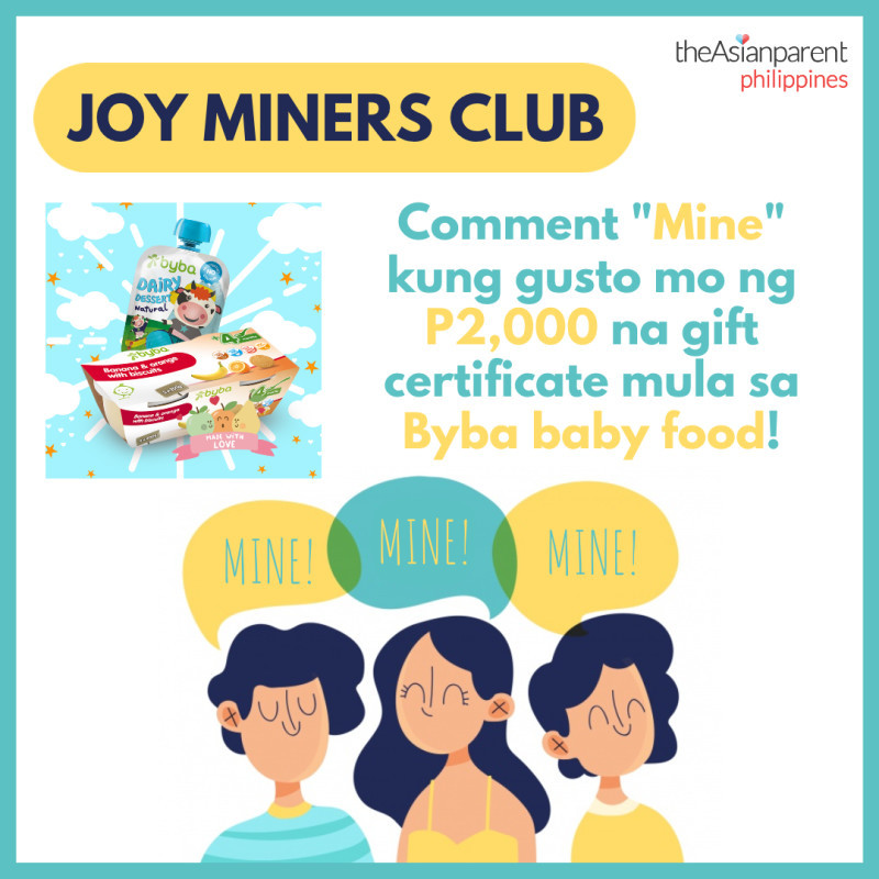 Joy Miners Club: P2,000 Byba gift certificate